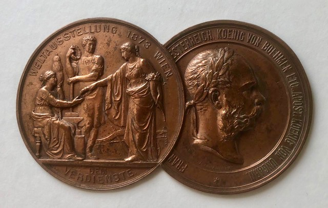 Pryce Jones medallion. Vienna